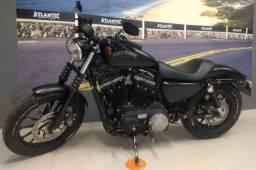 Harley Davidson XL 883N Iron 2015. ABS e chave de presença.