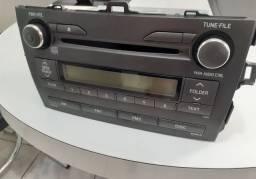 Rádio original do corolla 2009 à 2014