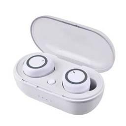 Fone De Ouvido Sem Fio Bluetooth 5.0 Stereo Tws Para Esporte