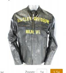 Jaqueta de couro Harley-Davidson