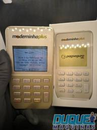 Máquina de cartão moderninha plus Pag bank 3 meses de taxa 0