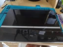 Notebook hbuster com placa gráfica gforce 9100 com cuda para jogos.