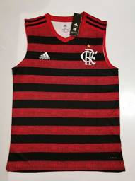 Regata Flamengo Home Adidas 19/20 - Tamanhos: P, M, G