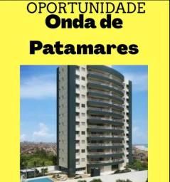 Residencial Ondas de Patamares-3 Suítes, 133m²-Vista Mar!