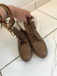 Sapato/botinha cano baixo infantil