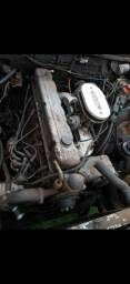 Motor 6 cilindros opala e caravan com agregado e periféricos funcionando