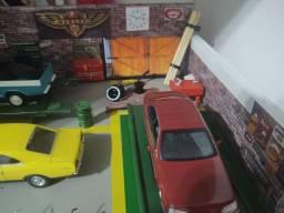 Diorama oficina Chevrolet 1:43