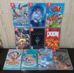 Jogos Nintendo Switch Donkey Kong, Darksiders, Sonic