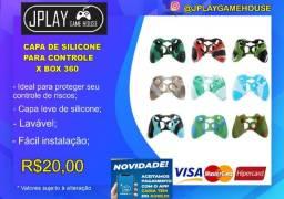 Capa de silicone para controle Xbox 360