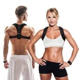 Corretor de Postura Ajustável Ombros Coluna Pronta Entrega