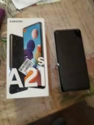 Vendo um celular A21S novinho