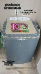 Capas para maquina de lavar feita de lona