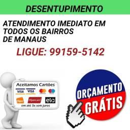 ATENDIMENTO em todos os bairros de Manaus desentupimento em geral