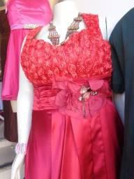 Lindos vestidos de festa tamanhos especiais Novos