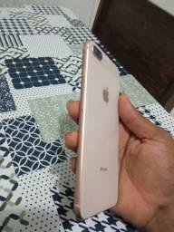 Iphone 8plus completo + 12 capas