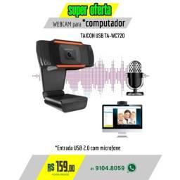 Webcam 1080P Usb 2.0 Full Hd  Alta Definição