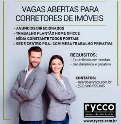Corretor/ Agenciador/Consultor Imobiliário