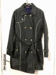 Trench Coat Preto