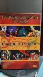 Box dvd cirque du soleil