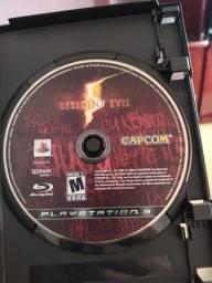 Mídia física resident evil 5 para PS3