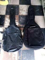 Guitarra Vogga Com 2 Capas Em Ótimo Estado