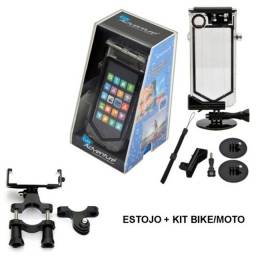 Capa Iphone 5, 5s, SE, Go Adventure, nova completa