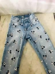 Calça jeans infantil