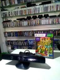 Kinect para Xbox360 c/jogo original Entrega/parcela Cartão