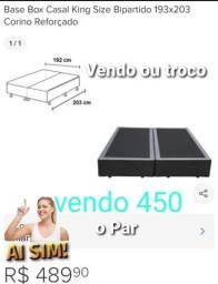 Título do anúncio: Vendo base cama box Super King