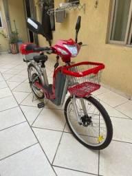 Bicicleta elétrica Veloster completa