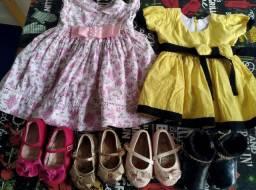 Roupinhas  E calçados bebê menina 0 a 9 meses