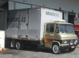 mudanças e fretes - caminhão baú e carretinha