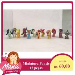My Little Poney - Miniatura - 12 peças
