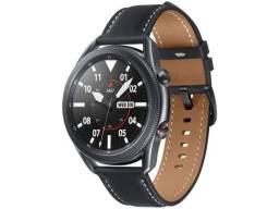 Smartwatch Samsung Galaxy Watch 3 LTE Preto 45mm - Com NF, Lacrado, sem trocas