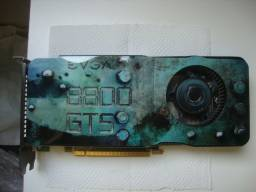 Placas de Vídeo EVGA 8800gts e GF 7200GS 512MB