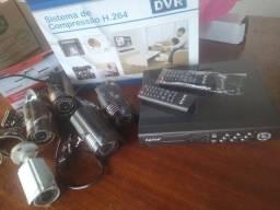 Kit segurança Dvr e câmeras UBERABA