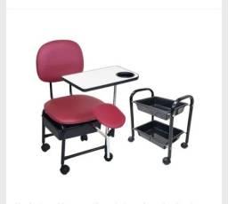 Título do anúncio: Cadeira manicure cirandinha