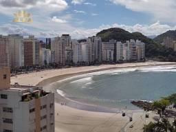 Lindo apartamento localizado na praia das Astúrias - Lazer - Vista para o mar - 100 M² de