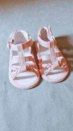 Sandália bebe menina , tam. 17