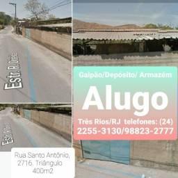 ALUGO: GALPÃO/ ARMAZÉM/ depósito