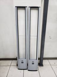 2 Torres de Alarme Anti Furto para loja/ Etiquetas/ pinos/ Desacoplador