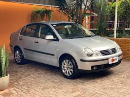 VW Polo Sedan 2005/2005 1.6 Flex Completo + Couro, impecável, financiamos!