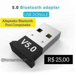 Adaptador Bluetooth 5.0 para Computadores e Notebooks