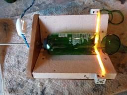 Máquina de cortar garrafas de vidro e garrafões - 110v
