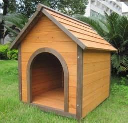 Casas de madeira para cães (caseira)
