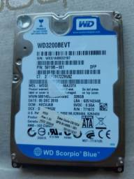 HD 320gb notebook Wd