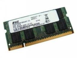 memoria 2 gb ddr2 de notebook
