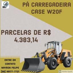 Pá Carregadeira Case W20F