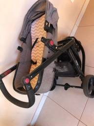 Carrinho Safety 1st ( carrinho, bebê conforto e base do bebê conforto)