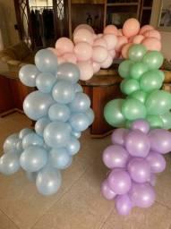 Doação arco de balões
